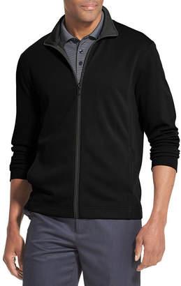 Van Heusen Traveler Full Zip Long Sleeve Sweater