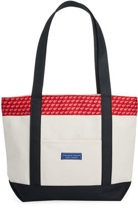Vineyard Vines Detroit Red Wings Tote