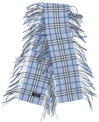 Burberry Happy Cashmere Fringe Scarf