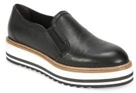 White Mountain Summit By Braxton SI0288 Leather Platform Loafers