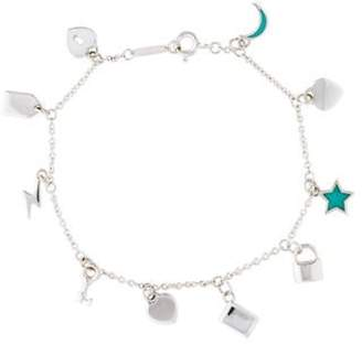 Tiffany & Co. Love Notes Dangle Charm Bracelet silver Love Notes Dangle Charm Bracelet