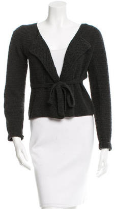 Vera Wang Wool Knit Cardigan $85 thestylecure.com