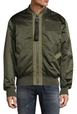 Diesel West Laceup Utility Flight Jacket