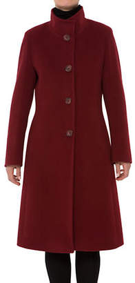 Cinzia Rocca Icons Buttoned Wool-Blend Coat