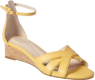 Cole Haan Hana Grand Leather Wedge Sandal