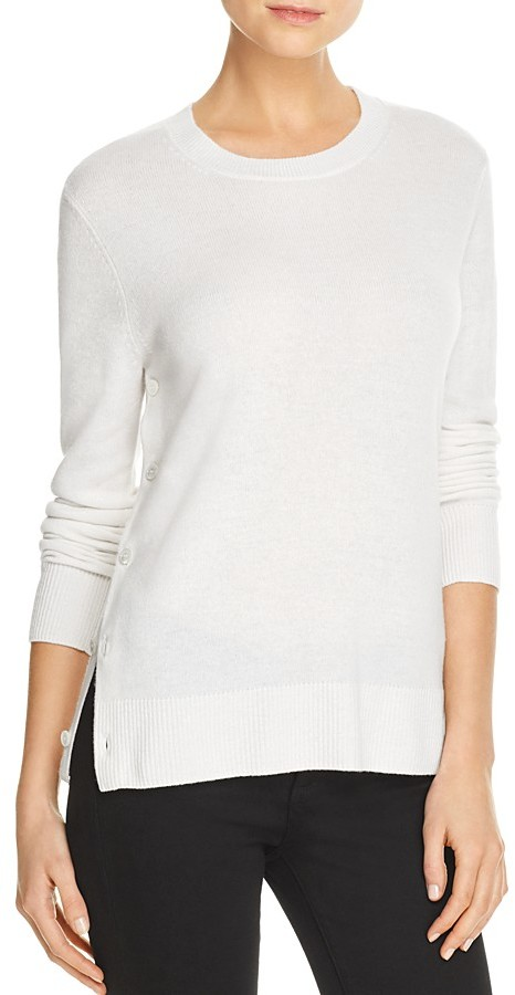 Equipment Equipment Cashmere Side-Button Sweater