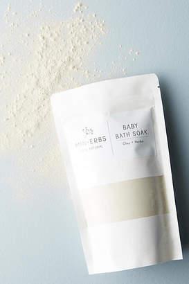 Min-Erbs Clay + Herbs Baby Bath Soak