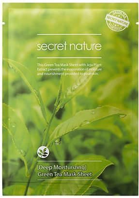 SECRET NATURE Moisturizing Green Tea Sheet Mask