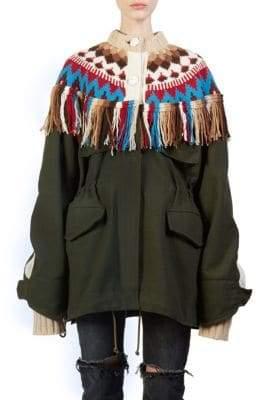 Sacai Nordic Tassel Jacket