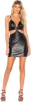 by the way. Suki Faux Leather Mini Dress