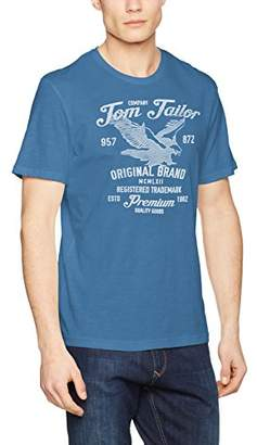 Tom Tailor Men's Structure Tee T-Shirt,Large