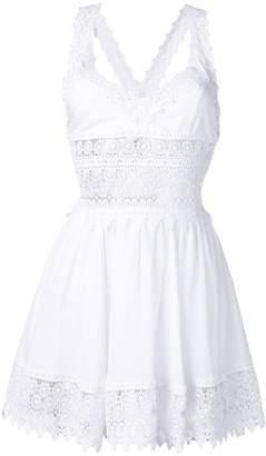 Charo Ruiz Ibiza lace panel dress