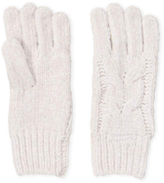Cejon Solid Cable Knit Gloves