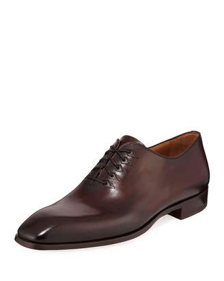 Magnanni Men's Lace-Up Leather Dress Shoes