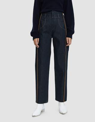 Colovos Stitched Denim Trouser