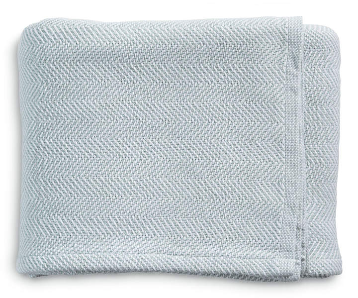Brahms Mount Herringbone Bed Blanket