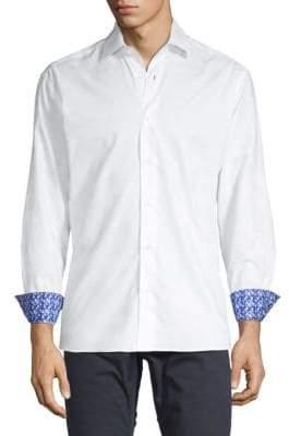 Bertigo Printed Cuff Shirt