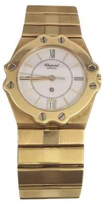 Chopard St. Moritz SM31766 18K Yellow Gold 32mm Unisex Watch
