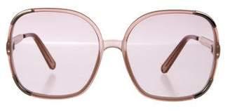 Chloé Tinted Oversize Sunglasses