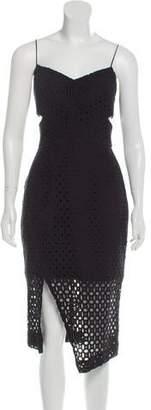 Nicholas Lace Cutout Midi Dress