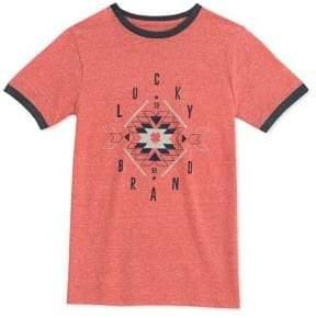 Lucky Brand Boy's Short-Sleeve Graphic Tee