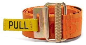 Heron Preston - стиль Embroidered Jacquard Tape Belt - Mens - Multi