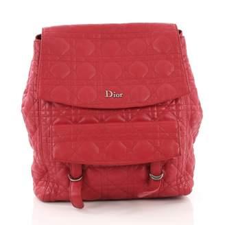 b47b9905500f Christian Dior Red Leather Backpacks
