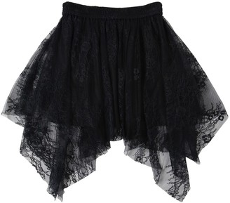 Zadig & Voltaire Zadig&Voltaire ASYMMETRICAL TECHNO LACE SKIRT