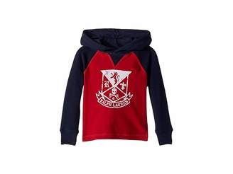 Polo Ralph Lauren Waffle-Knit Graphic Hoodie (Toddler)