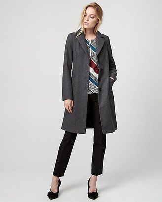 Le Château Melton Wool Notch Collar Coat