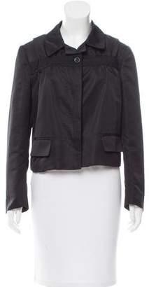 Dries Van Noten Silk Notch-Lapel Jacket
