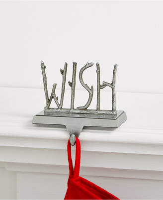Holiday Lane Wish Stocking Holder, Created for Macy's
