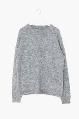 Genuine People Wool Mohair Blend Sweater