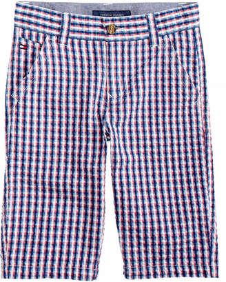 Tommy Hilfiger Gingham Cotton Shorts, Toddler Boys