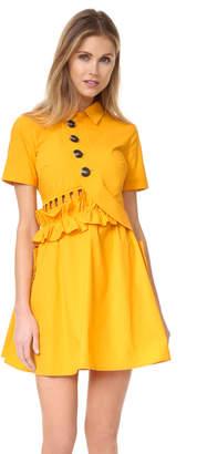 Self Portrait Button Shirtdress $425 thestylecure.com