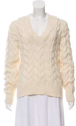 Alexander McQueen Long Sleeve Knit Sweater