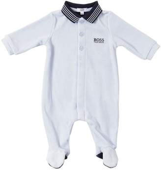 HUGO BOSS Cotton Blend Romper