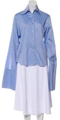 Marques Almeida Marques' Almeida Long Sleeve Button-Up Top