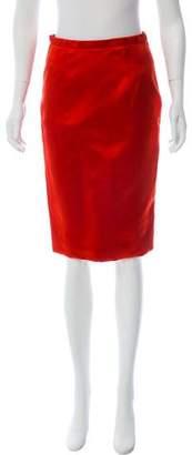 Burberry Knee-Length Pencil Skirt w/ Tags