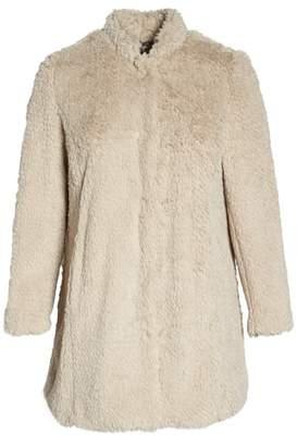 Kenneth Cole New York 'Original Teddy' Faux Fur Coat