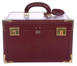 Cartier Vintage Le Must De Train Case Travel Bag