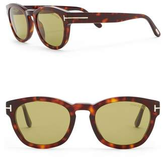 Tom Ford Bryan 51mm Rounded Sunglasses