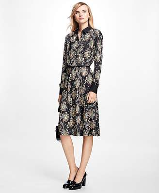 Floral Shirt Dress $398 thestylecure.com
