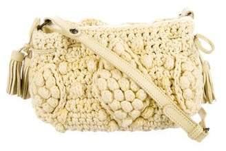 Gerard Darel Crochet Crossbody Bag