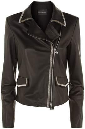 Emporio Armani Printed Jacket