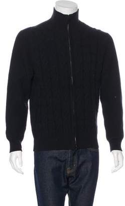Pringle Cashmere & Wool Cable Knit Sweater