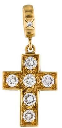 Loree Rodkin 18K Diamond Cross Pendant
