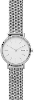 Skagen Signatur Stainless Steel Slim Watch, 30mm