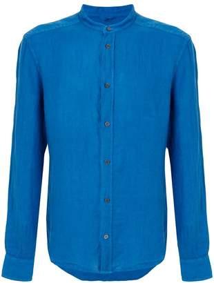 Peuterey mandarin collar shirt