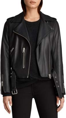 AllSaints Balfern Leather Biker Jacket